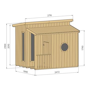 Lastemaja / väike aiamaja | Funk | Baltic Fence